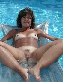Swimming Pool Spread - What Great Nipples!.