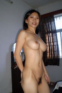 Fluffy asian MILF.
