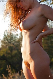 Sexy redheaded country girl.