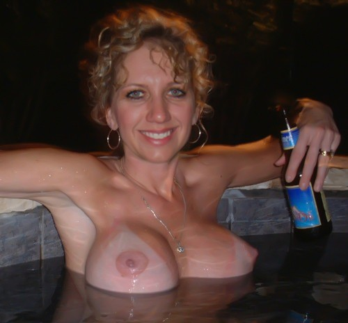 Drunk mature tits