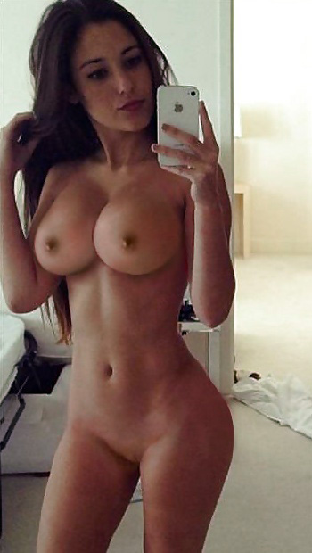 Hot latina selfie woman