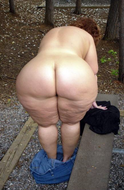 Mature Big Granny Booty#5