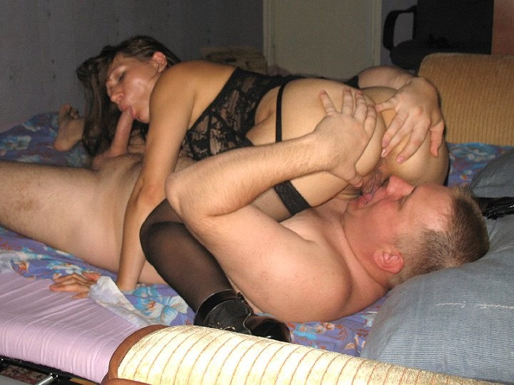Father fuck his daughter and wife