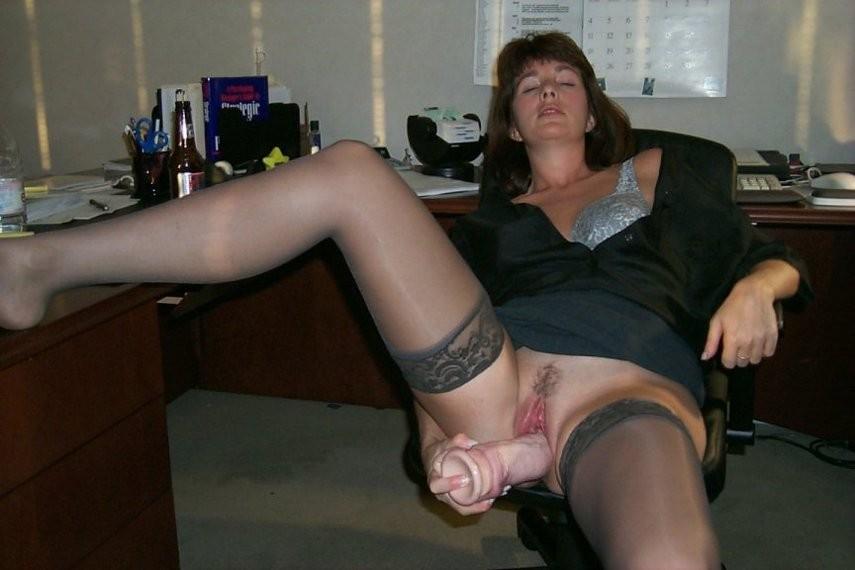 Wife masterbating watching porn slut load