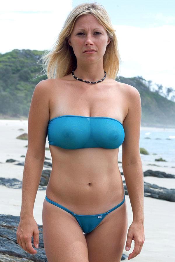 Hot amateur mom bikini