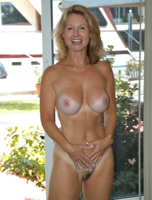 Wife naked with tan lines