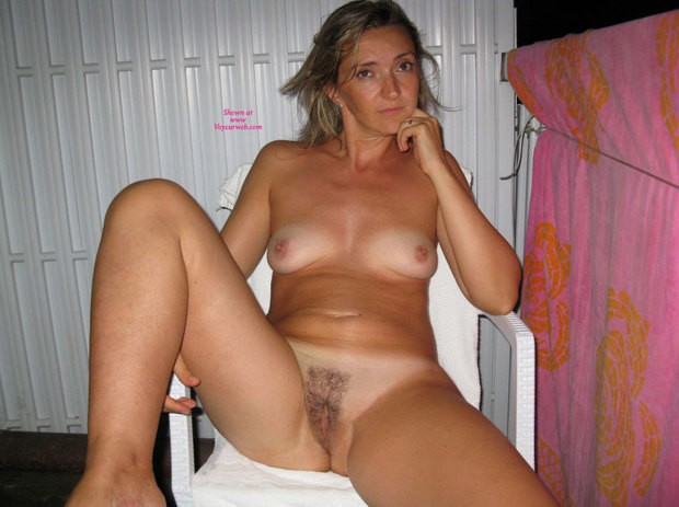 Homemade amateur mature blonde nude wife afraid