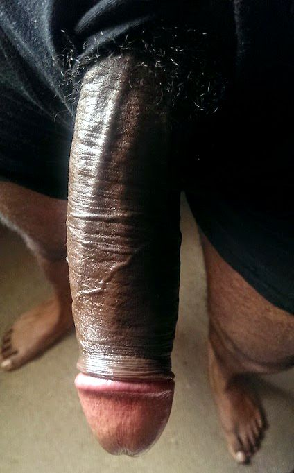 Huge Black Dick Homemade